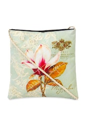 Floral Digital Print Cross Body Bag - The House Of Tara