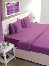 Bright Purple Bed Cover - HOUSE THIS