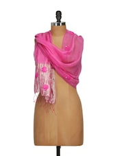 Hand Woven Transparent And Delicate Silk Scarf With Crushed Feel - WELKIN