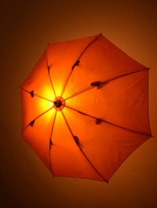 Quirky Umbrella Lamp
