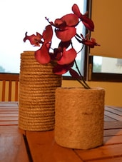 Gorgeous Jute Vases - PROP IT UP