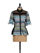 Peplum Designer Shirt - Purys