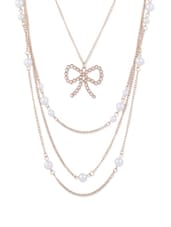 Gold Multi-Layered Chain Necklace - CIRCUZZ