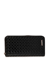 Black Textured Wallet -  online shopping for Wallets & Card holders