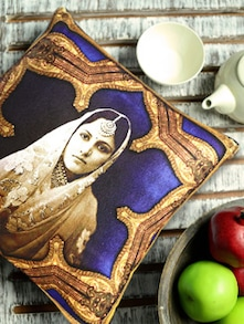 Rajasthani Royal Digital Print Cushion Cover