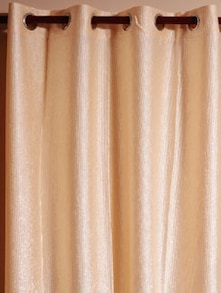 Eclipse Ivory White Window Curtain - Cosmos Galaxy