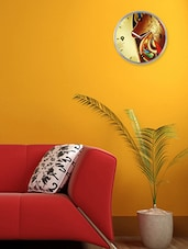 Kitsch Art Print Wall Clock - Cosmos Galaxy