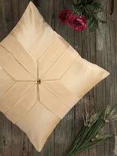 Elegant Cream Cushion Covers (set Of 5) - Dekor World