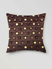 Set Of 2 Brown Cushion Covers - By