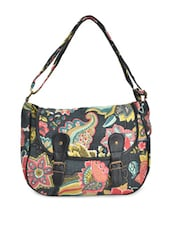 Multicoloured Floral Cross Body Bag - Art Forte