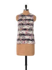 SLEEVELESS PRINTED TOP - House Of Tantrums