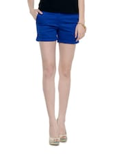Sexy Royal Blue Shorts - Meira