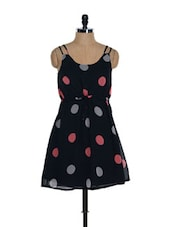 Black Polka Dot Dress - NUN
