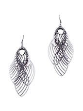ANTIQUE HANGING LEAF EARRINGS - THE BLING STUDIO