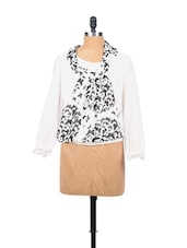 Black And White Butterfly Top - EVogue.Me