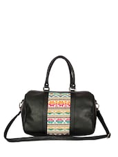 Tribal Touch Black Duffle Bag - The House Of Tara