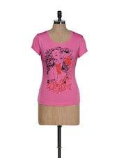 Artsy Girl Pink Graphic Top - TSG Breeze