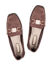 Coffee Brown Casual Shoes - Soft & Sleek