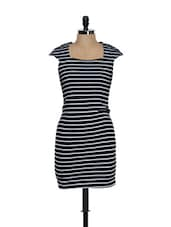 Black And White Striped Dress - Eavan