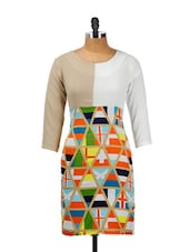 Multicolour Vibrant Dress - CHERYMOYA