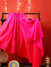 Plush Pink Silk Saree - RiniSeal