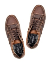 Coffee Brown Sports Shoes - Carlton London