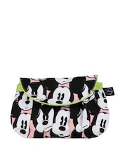 Black And White Mickey Mouse Print Sling Bag - Be... For Bag