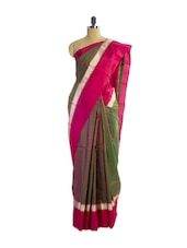 Incredible Green Silk Saree - Pothys