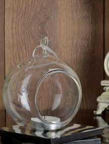Hanging D��cor Glass Bowl (Small)