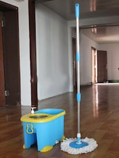 Premium 360 Rotating Magic Mop With Microfiber Mop Heads - Primeway