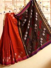 Dual Toned Resham Saree - Cotton Koleksi