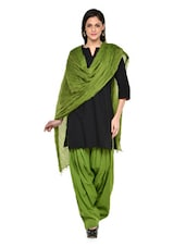Mehendi Green Patiala Salwar With Dupatta Set - Stylenmart