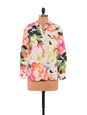 Fabulous Floral Printed Top - URBAN RELIGION