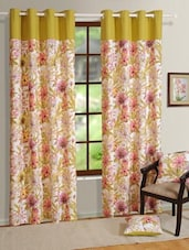 Blossom Printed Door Curtain - HOUSE THIS
