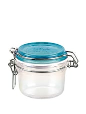 Jar With Lid - Blue 200ml - Bormioli
