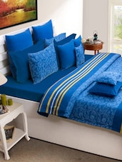 Royal Blue Bed Cover Set - HOUSE THIS
