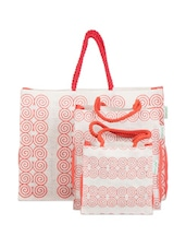 Spiral Print Gift Bag Set (Set Of 3) - Greenobag