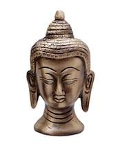 Buddha Head Brass Statue - HanDécor - 908710