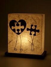 Jigsaw Fit Doodle Table Lamp - Shady Ideas