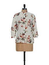 Off-White Floral Shirt - Purys