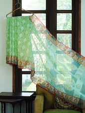 Regal Green Benarasi Saree - BANARASI STYLE
