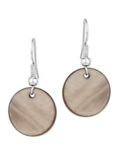 Pair Of Shell Beads Earrings - Voylla