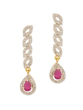 Classic Pair Of Dangler Earrings - Voylla