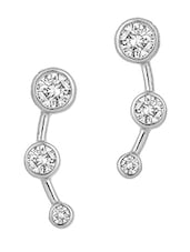 Sterling Silver With Round Shaped Motifs - Voylla
