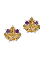 Lustrous Pair Of Stud Earrings - Voylla