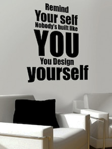 Design Yourself Wall Sticker-III