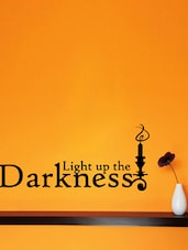 Light Up The Darkness Wall Sticker-III - Creative Width
