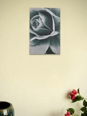 PVC Wall Painting - Artistic Rose - Fennel