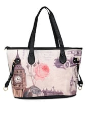 Big Ben Print Tote Bag - K22