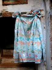 Blue Zari Jacquard Saree - BANARASI STYLE